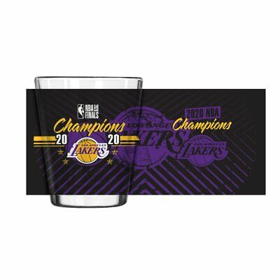 Los Angeles Lakers 2020 NBA Champions Logo 2 oz Shot Glass