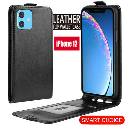 For Apple iPhone 12 mini  12  12 Pro Max Vertical UP Down Flip PU Leather Case