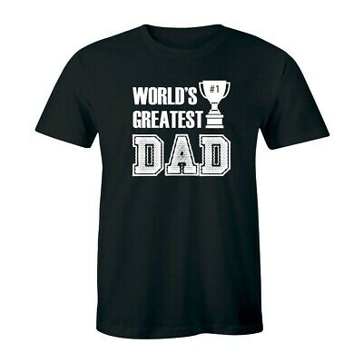 World Greatest Dad Shirt - Happy Fathers Day Mens T-shirt Gift Tee