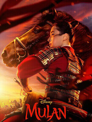 Mulan 1-Disc DVD 2020 Live Action New - Sealed Free Shipping US Region 1
