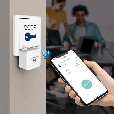 Bluetooth 5-0 Smart Button Pusher for Garage Wall Switch App Timer Control