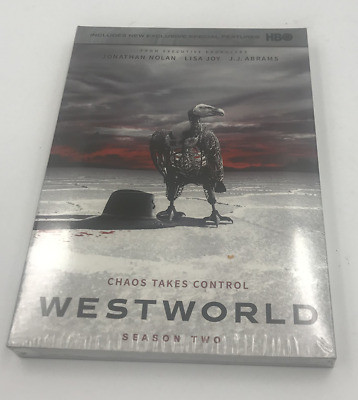Westworld  The Complete Season 2 DVD Region 1 Brand New Factory Sealed
