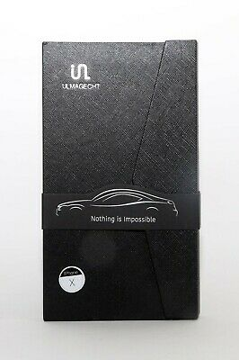 Ulmagecht Iphone X Case and screen protector and dash holder bundle magnetic NIB
