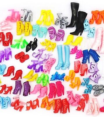 NEW Lot Barbie Shoes 20 PairsPremium Shoes US Sellersame Day Ship