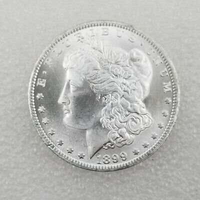1899 Morgan Silver Dollar BU Uncirculated Mint State $1 US Coin Collectible