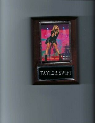 TAYLOR SWIFT PLAQUE MUSIC POP COUNTRY FOLK