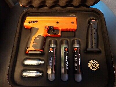 Byrna HD Max Kit - Safety Orange - Non-lethal Self Defense