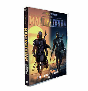 The Mandalorian  Complete Series Seasons 1-2 1 2 DVD 4-Disc Set Brand New