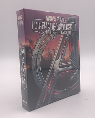 MARVEL STUDIOS CINEMATIC UNIVERSE 23-MOVIE COLLECTION 8-Disc Blu-ray Box Set New