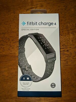 Fitbit Charge 4 Activity Tracker - Special Edition Granit Reflective