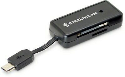 Stealth Cam STC-SDCRAND Memory Card Reader for Android Devices Reads
