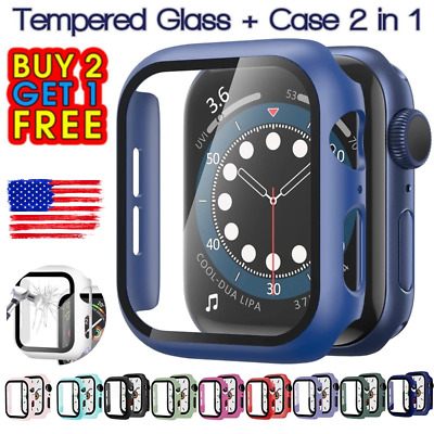 Full Cover Case - Screen Protector For iWatch Apple Watch Series 6 5 4 3 2 1 SE