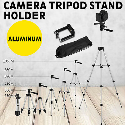 Professional Camera Tripod Stand - Phone Holder For Smartphone iPhone Samsung