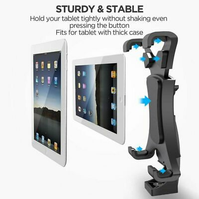 2 in1 Tripod Mount Adjustable Stand for Phone Ipad 7-10 Monopod Holder Clamp