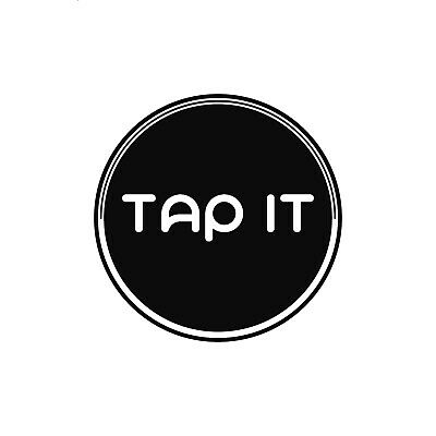 TAP ITDigital Business Card and Phone Accessory - NFC Tag- Share Social Media