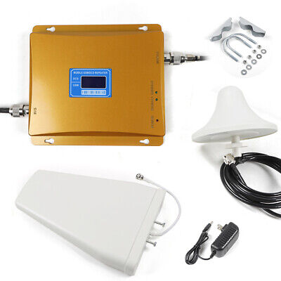 Cell Phone Signal Repeater Amplifier Mobile Signal Booster Dual Band 2G-3G-4G