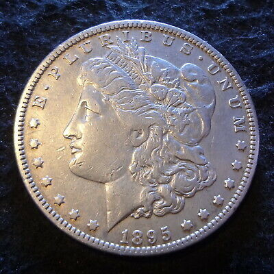 1895-O Morgan Silver Dollar - Solid XF details key from the New Orleans mint