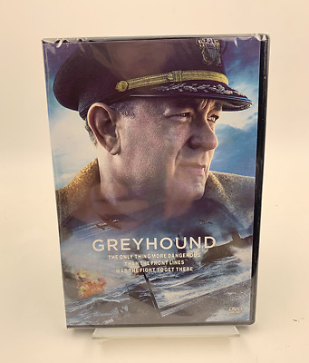 Greyhound DVD- Region 1 - New - Tom Hanks Free ship