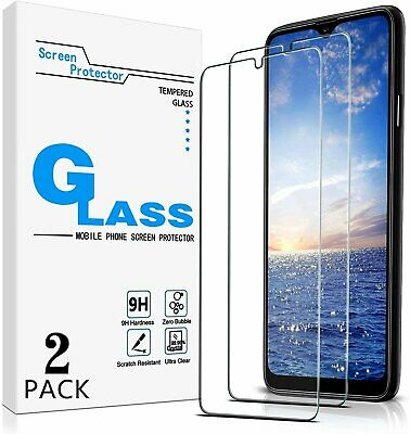 2-Pack Premium Tempered Glass Screen Protector For Samsung Galaxy A20s