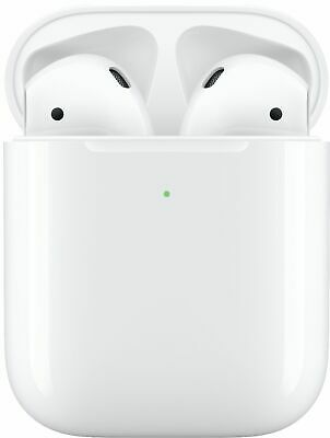 Apple AirPods 🍎 2nd Generation Bluetooth Earbuds - Charging Case 🎵 MV7N2AMA