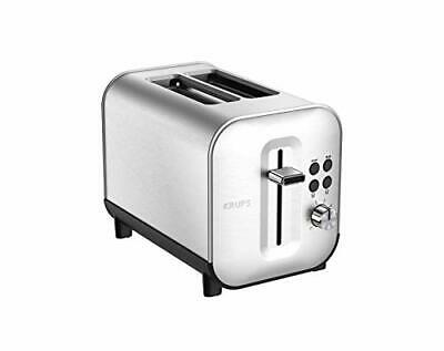 Krups Excellence Grille-Pain 2 fentes Inox Thermostat 8 Positions Toaster KH6...