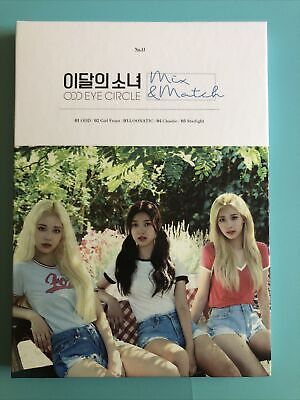 Loona Odd Eye Circle Mix - Match Album Photocards Sold Together Or Separately