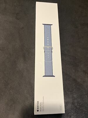 Apple Watch Woven Nylon Band 42mm Genuine Authentic NEW Midnight Blue