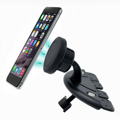 Car Magnetic CD Slot Mount Phone Holder Universal GPS Stand Interior Accessories
