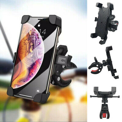 Bicycle Motorcycle Bike Handlebar Silicone Mount Holder Stand for Cell Phone GPS