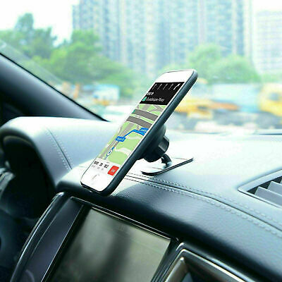 Universal 360° Magnetic Car Mount Cell Phone Holder For iPhone E0G4 Stands C3D9
