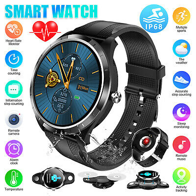 Smart Watch Heart Rate ECG PPG Blood Pressure Waterproof for iOS Android iPhone