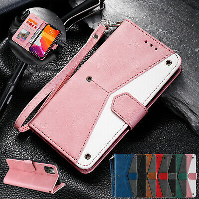 Magnetic Leather Wallet Card Case Stand Cover For iPhone 11 12 Pro Max XS X XR 8