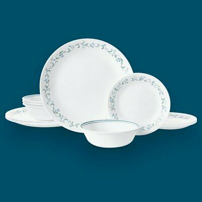 Corelle Country Cottage 12-pc Dinnerware Set Service for 4