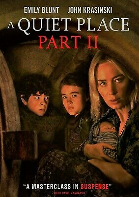 A Quiet Place Part 2 II DVD - HorrorSuspense - Brand New w Free Shipping