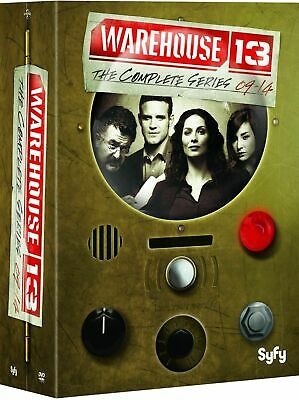 WAREHOUSE 13 The Complete Series on DVD Seasons 1-5  DVD 16 Disc Box Set  NEW