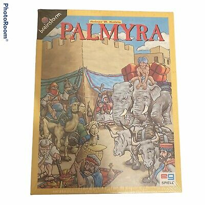 New Wrapped Spiele Board Game Palmyra Reiner Knizia German Card Trading Game