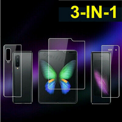 3 in 1 Full Cover Hydrogel Screen Protector For Samsung Galaxy Z Fold 3  Z Flip