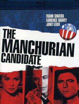 The Manchurian Candidate - 1962 Blu-ray 2010 Frank Sinatra - PreOwned - VG