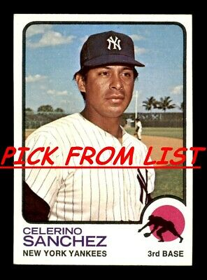 1973 Topps 2-259 EXEX-MT Pick From List All PICTURED