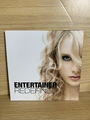 Rare Taylor Swift ENTERTAINER REDEFINED Fearless CD CMA Consideration Promo