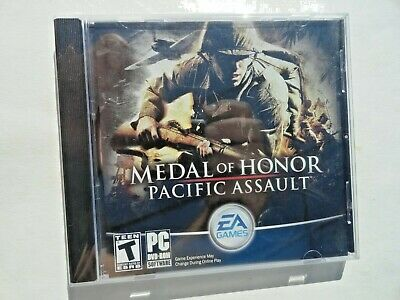 Medal of Honor: Pacific Assault (PC, 2004) Jewel Case PC NEW SEALED
