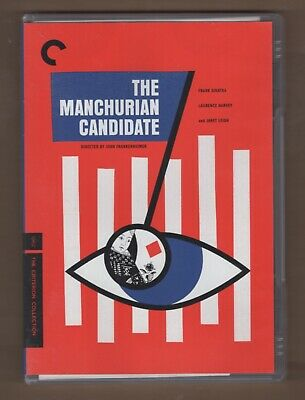 The Manchurian Candidate Criterion Collection DVD 1962 FIRST PRINTING
