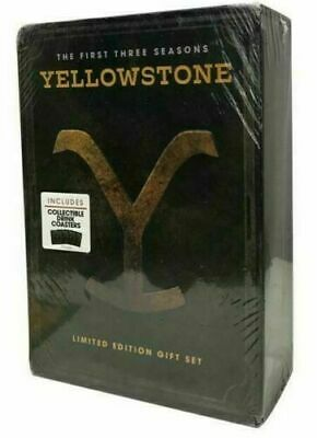 Yellowstone Season 1 2 and 3 Limited Edition Brand New FREE SHIPPING US Seller