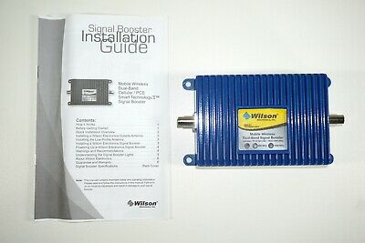 Wilson Electronics Mdl 271201 Mobile Wireless Dual-Band Signal Cellular Booster