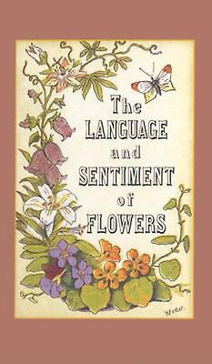 The Language and Sentiment of Flowers by James McCabe English Hardcover Book