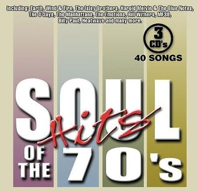 Various Artists - Soul Hits of the 70s  Various New CD Boxed Set