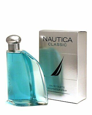 NAUTICA CLASSIC 3-3 oz  3-4 oz Cologne for Men New in Box