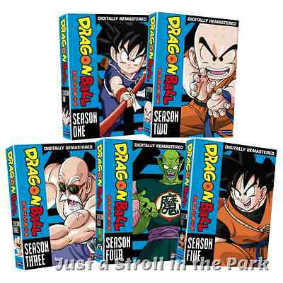 DragonBall Dragon Ball Complete Series Seasons 1 2 3 4 5 Box  DVD Sets NEW