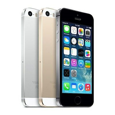 Apple iPhone 5S 16GB Factory Unlocked 4G LTE iOS Smartphone