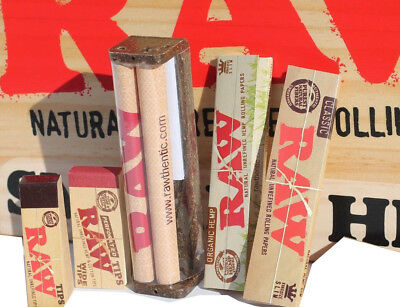 RAW ROLLING PAPER COMBOCOLLECTION ROLLER MACHINE-PAPERS-TIPS
